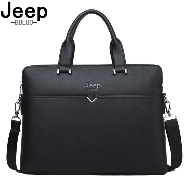BULUOJEEP Brand Famous Brand Business Briefcase Bag Cow Split Leather High Quality Men office Bags For 14 Laptop A4 Male BagBULUOJEEP Brand Famous Brand Business Briefcase Bag Cow Split Leather High Quality Men office Bags For 14 Laptop A4 Male Bag