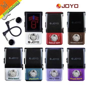 JOYO IRONMAN Guitar Effects Pedal Acoustic Gutiar Simulator Compressor Wah Wah Noise gate Pedal Tuner Analog Fuzz True Bypass hotone soul press volume expression wah wah guitar pedal cry baby sound