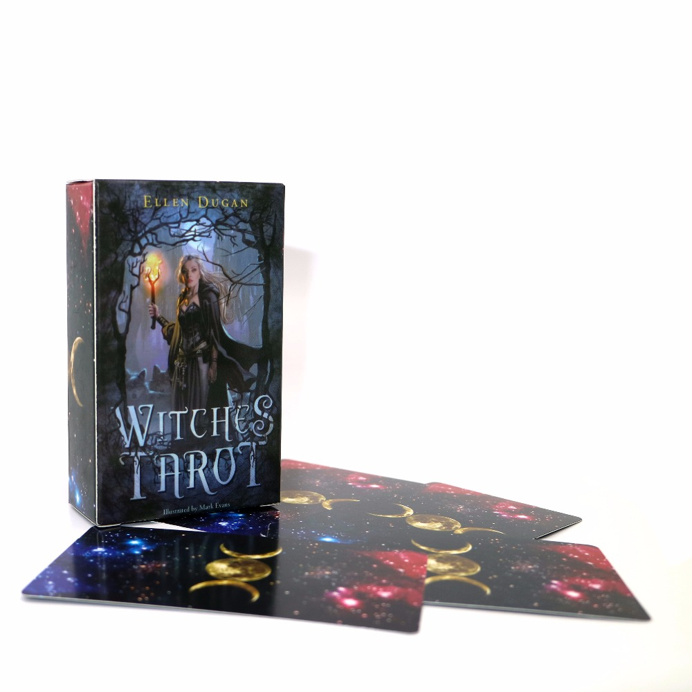Mystic Tarot deck 78 cards - read your fate, dreams, future bicycle karnival earthtone9 deck playing cards