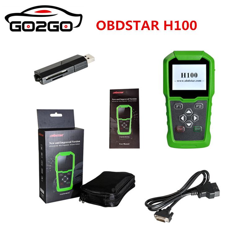 Constructive Obdstar H100 For Ford For Mazda Auto Key Programmer Supports 2017/2018 Models Like F250/f350 Auto Key Programmers