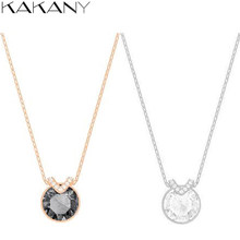 Kakany Original 925 Sterling Silver High Quality 1:1 Romantic Simple Wild Necklace, Valentine's Day Gift, Ladies Fashion Jewelry(China)