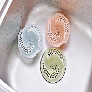 1PC Multi-color Bath Stopper Strainer Shower Cover Kitchen Bathroom Basin Sink Strainer Filter Drain Strainer фото