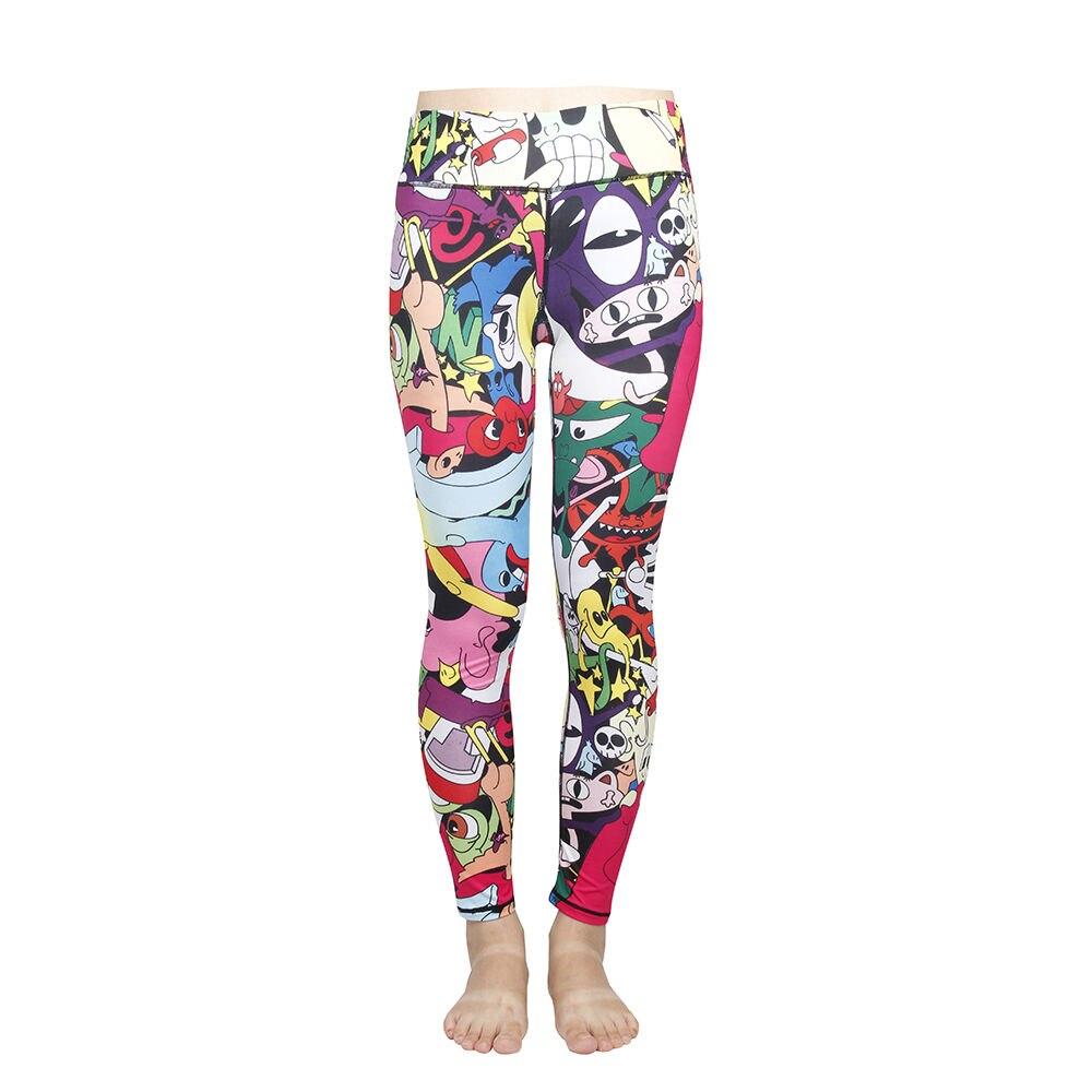 Acheter Femmes Taille Haute Remise En Forme DE YOGA Sport Pantalon Imprimé de Course Stretch Leggings Nouveau de yoga sport pants fiable fournisseurs