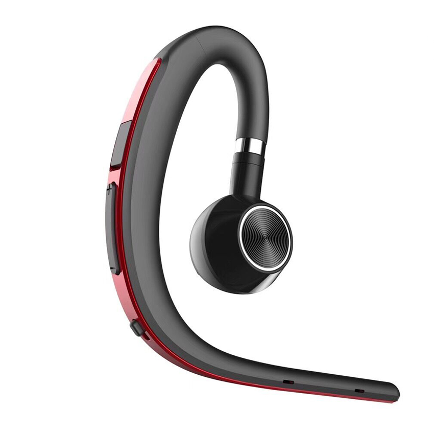 New Car Driver Handsfree Business Bluetooth Headphone With Mic Voice Control Wireless Noise Isolating HD Sound Headset Earphone bq 618 wireless bluetooth v4 1 edr headset support handsfree earphone with intelligent voice navigation for cellphones tablet