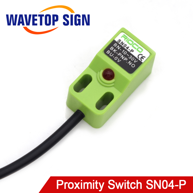 Laser Machine Magnetic Induction Limit Switch Laser Engraving Machine Parts SN04-P 10-30VDC Normally Open PNP
