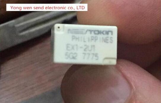 цена на HOT NEW relay EX1-2U1 EX12U1 EX1-2 DIP5 10pcs/lot