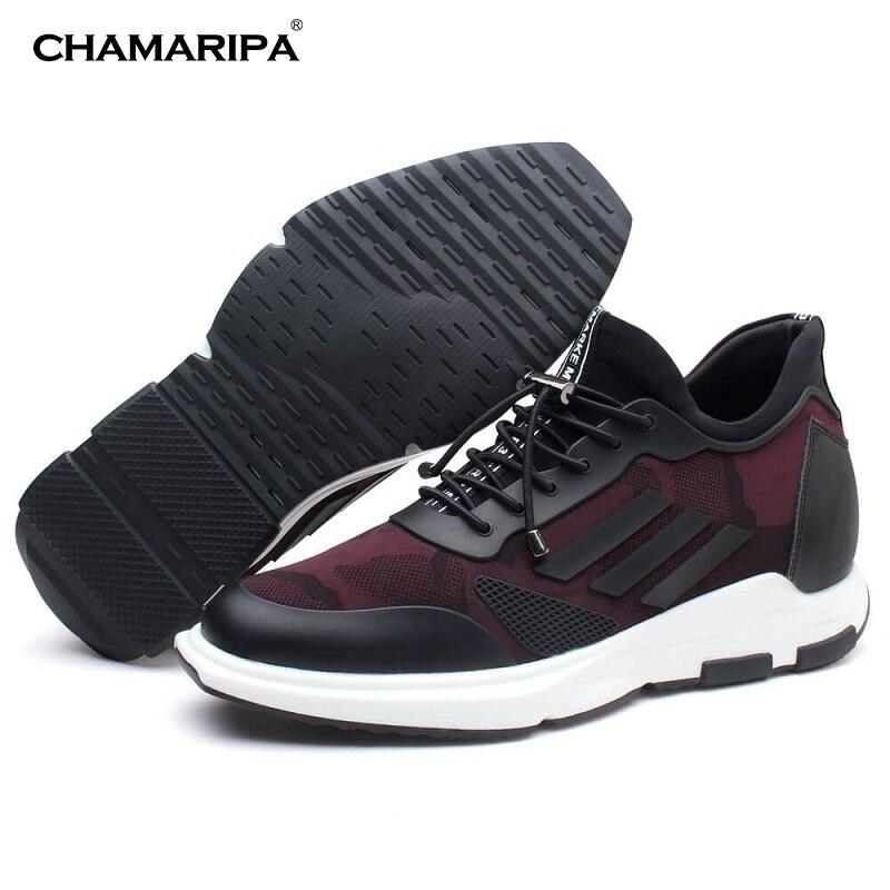 Fashion Men Elevator Shoes Sneaker