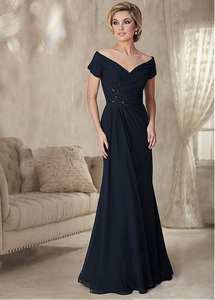 Fnoexw Mother of the bride Plus Size Evening Dress Vestido