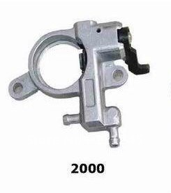 OIL PUMP  FITS ZENOAH G2000T G2000  CHAINSAW PUMP HOUSING  OILER  KIT REPLACE PART 848C006700 aluminum water cool flange fits 26 29cc qj zenoah rcmk cy gas engine for rc boat