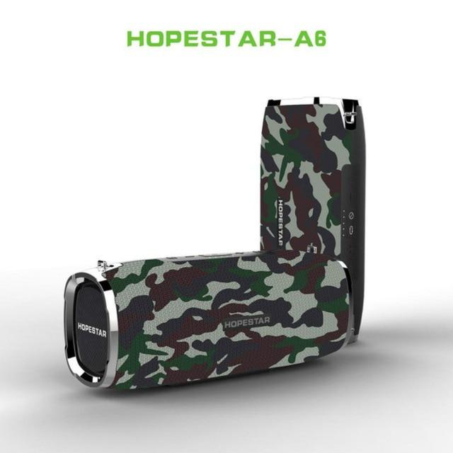 35W Super Bass Portable Speakers Column Waterproof Bluetooth Speaker Music Speaker Column Acoustic System Boom Box Subwoofer Box