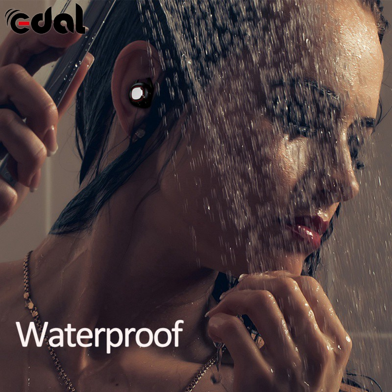 EDAL High Quality Protable Earphone Wireless Bluetooth Fit Headsets Call/hang up Noise reduction High Quality Music Sports Gift lexin 2pcs max2 motorcycle bluetooth helmet intercommunicador wireless bt moto waterproof interphone intercom headsets