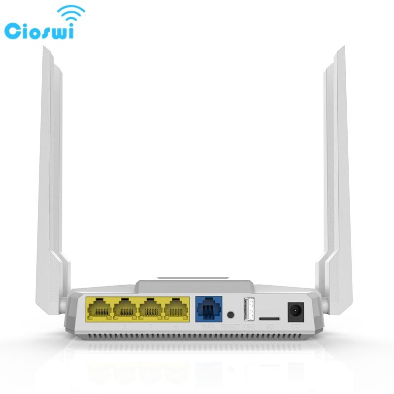 Беспроводной Wi Fi роутер Cioswi 3G 4G Lte со слотом для SIM карты, двухдиапазонный, точка доступа 1200 Мбит/с, подходит для путешествий в автомобиле, биз