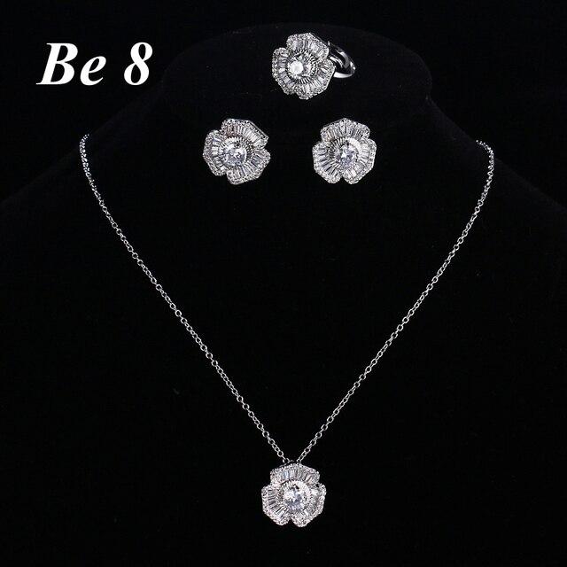 Be8 брендовые роскошные женские Ювелирные наборы включает в