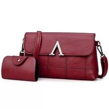 Fashion 2017 Designer Brand Ladies quality PU leather handbag dress solid shoulder bag mini bag lady messenger wallet and handb