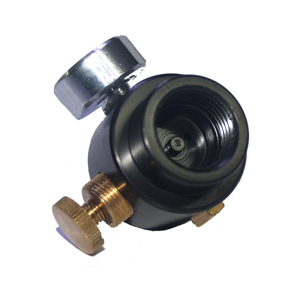 Купить с кэшбэком New Paintball Tank Cylinder Adjustable Regulator Output Pressure 0-300psi 0.825-14NGO Thread