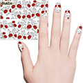BlueZoo 12 Sheet Flowers Water Transfer Stickers On Nail DIY Nail Stickers Nail Art Tips Decals Watermark Stickers Colorful