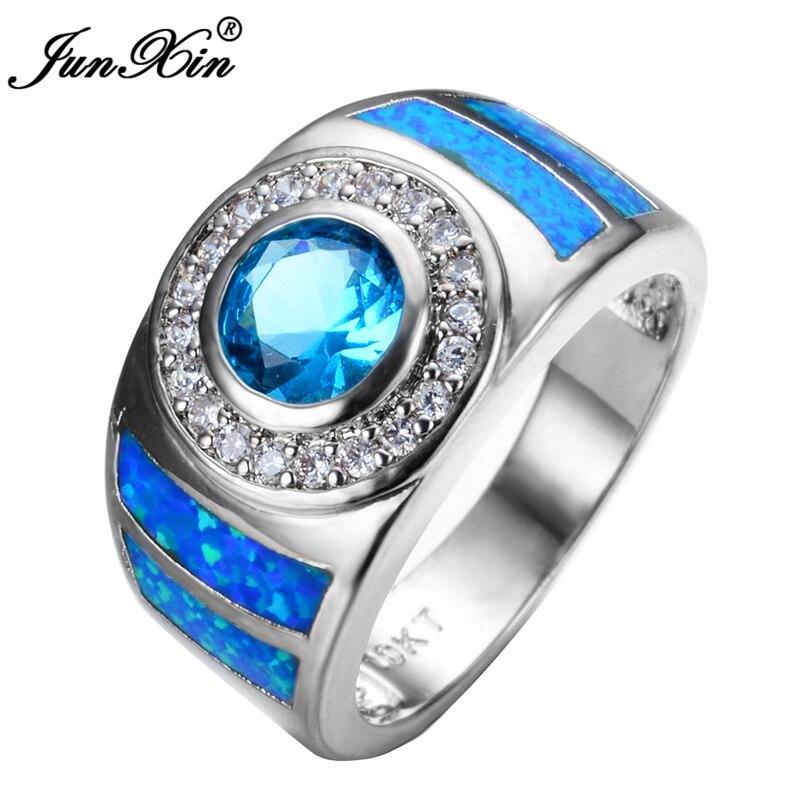 Online Get Cheap Blue Opal Engagement Ring Aliexpresscom