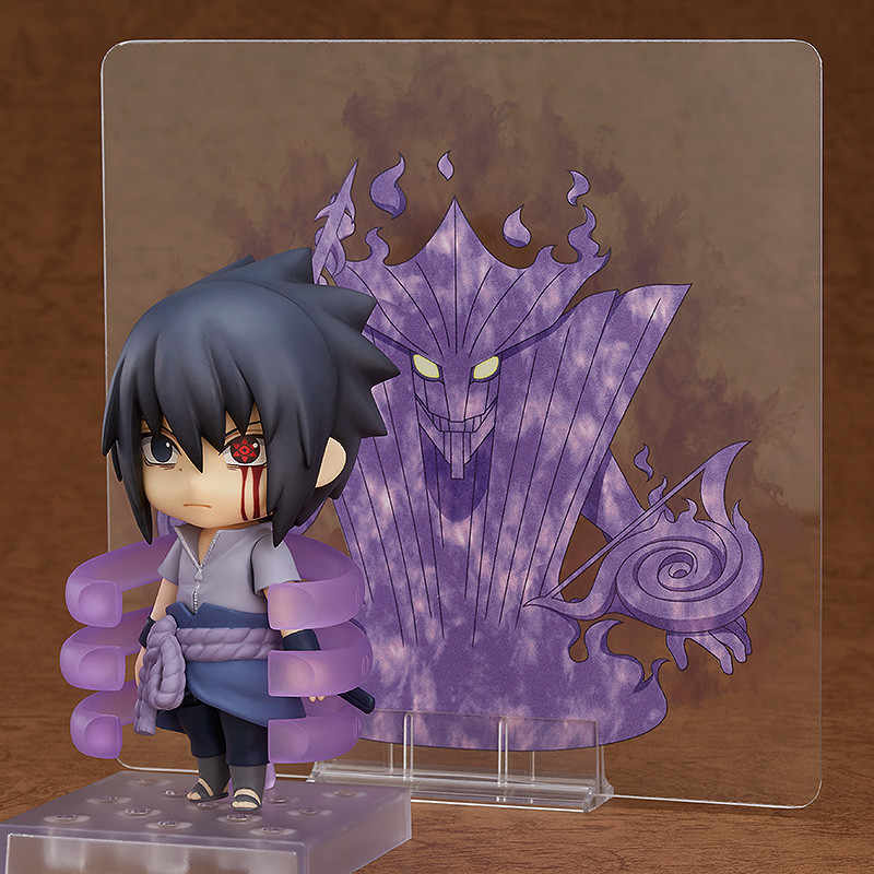 Anime Naruto Sasuke Nendoroid Pvc Action Figure Uchiha Sasuke Susanoo Nendoroid Collection Model Toy 10cm