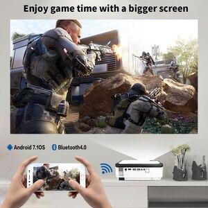Image 3 - Crenova Mới Nhất 1920*1080P Máy Chiếu Android Cho Video 4 K Đèn Led Máy Chiếu Với Hệ Điều Hành Android 7.1 Wifi Bluetooth full HD Beamer