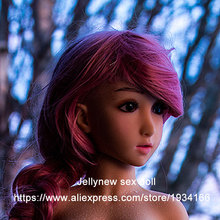 silicone love doll head,anime sex doll 100 cm,oral depth 9 cm,realistic skin feeling,Fast delivery time.