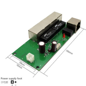 Image 3 - Calidad OEM, mini placa base, precio, módulo de interruptor de 5 puertos, placa PCB de la empresa manufaturer, módulo de interruptores de red ethernet de 5 puertos