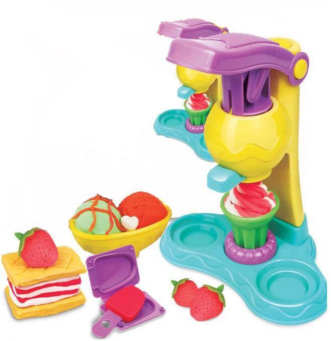 BOHS Knetmasse Ton Teig Plastilin Eis Mould Spielen Kit Diy Spielzeug, Keine einzelhandel box