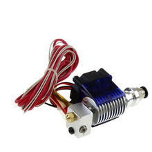 Bowden long distance E3D V6 J-head All metal hotend Extruder with cooling fan for 1.75mm 12V 0.2/0.3/0.4/0.5mm Nozzle