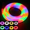 Высокое Качество LED Neon Flex Rope Light Водонепроницаемый IP66 80led/М F5 гибкий светодиодный неон полосы света RGB/теплый/Холодный/Лампы/Gree свет