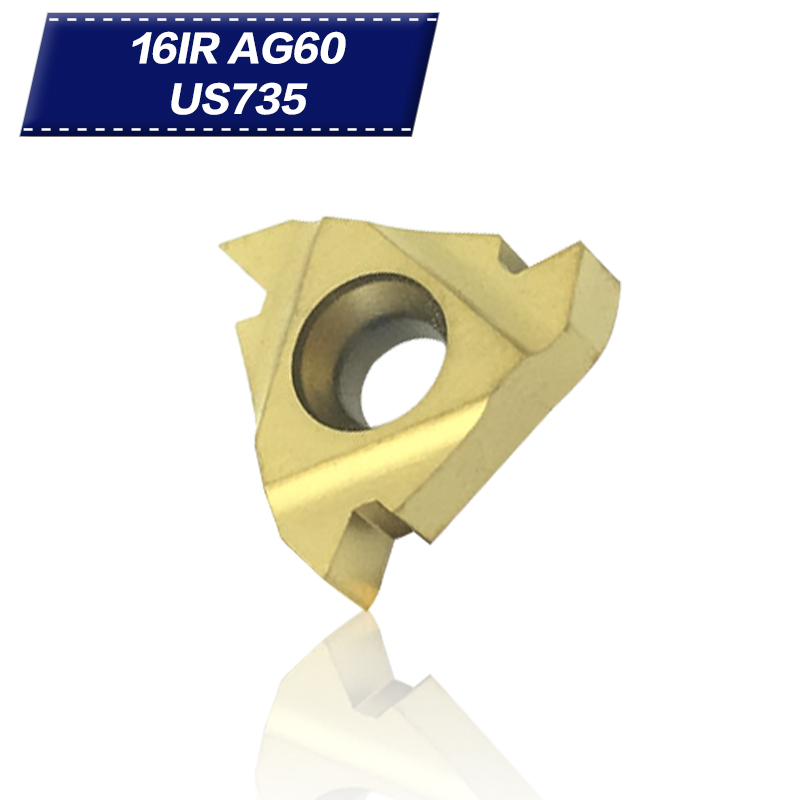 10pcs 16ERAG60  SUPER INSERT Carbide nc blades 10pcs 16IRAG60