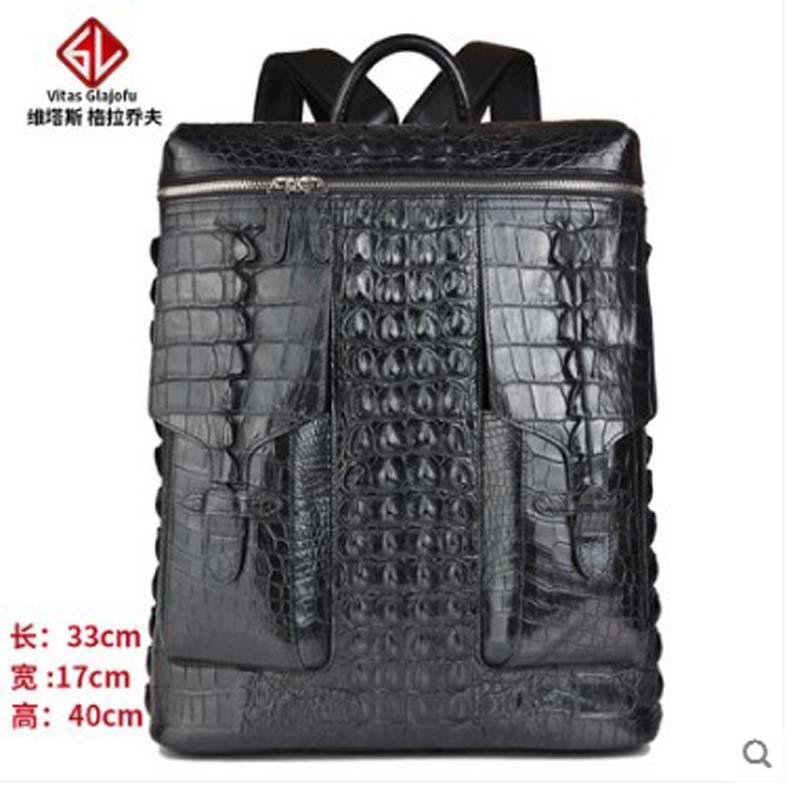 weitasi 2019 new Crocodile leather backpack travel bag mens and womens backpacks leisureweitasi 2019 new Crocodile leather backpack travel bag mens and womens backpacks leisure