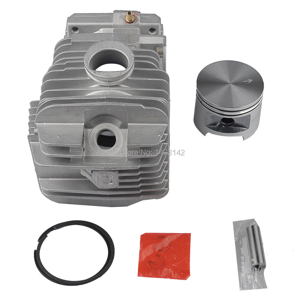 49MM Cylinder Piston Ring Assembly For STIHL 029 MS290 039 MS390 MS310 Chainsaws Gasoline Engine REP 1127 020 1216 47mm cylinder piston kit for stihl ms310 ms 310 rep 1127 020 1218