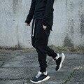 2017 Мужчины креста брюки высокая qualily jogger брюки гарем брюки мужчины случайные свободные брюки high street штаны Мужчины Спортивный Костюм K915