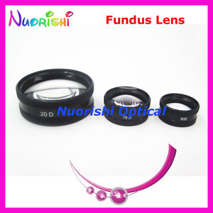 Image 3 - 20D As Good As volk Lens! Ophthalmic Aspheric Fundus Retina Slit Lamp Contact Lens Black Leather Metal Case Packed Free Shipping