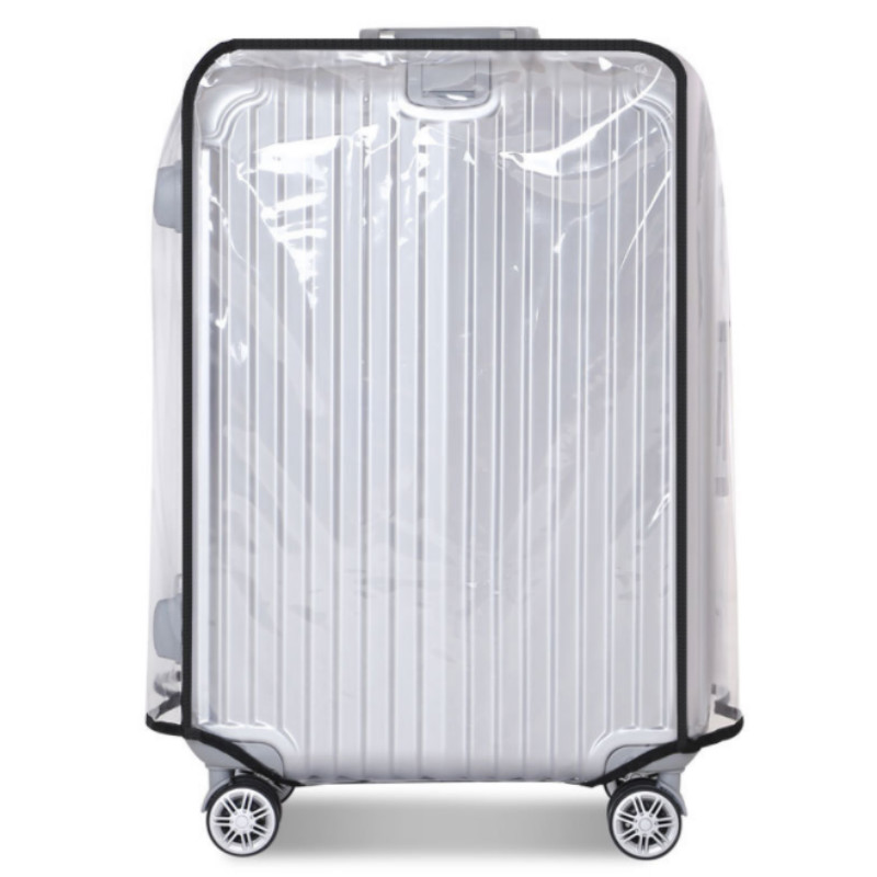 Transparent Waterproof PVC Trolley Suitcase Cover Dustproof Protective Cover Travel Case Accessories