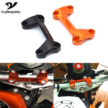 For KTM duke125 duke200 duke390 DUKE 390 200 125 Motorcycle Accessories Aluminum Handlebar Risers Cover Handle Bar Riser Clamp