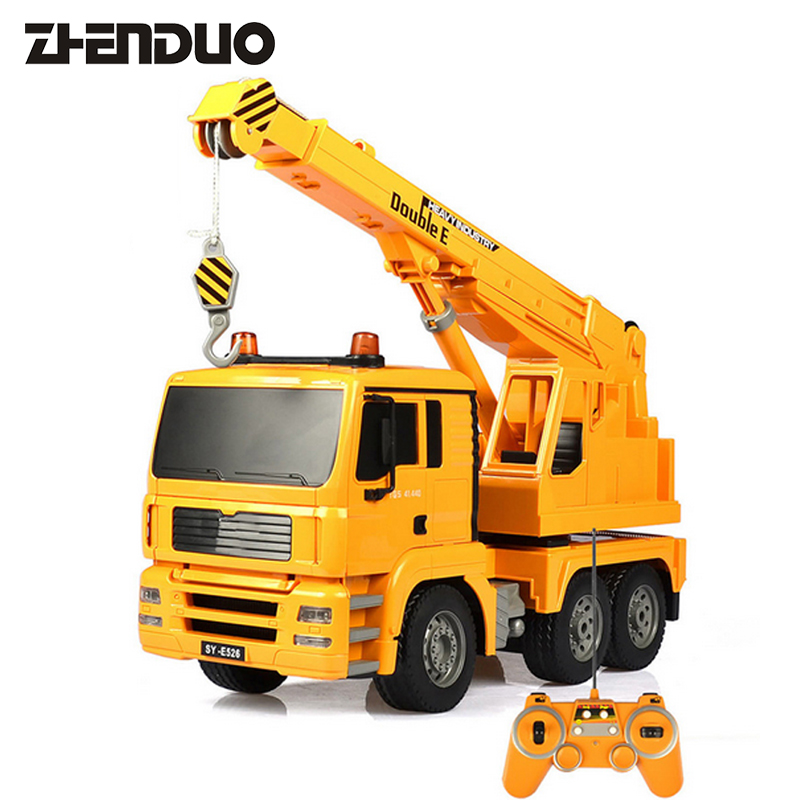 ZhenDuo Toys 1:20 E516-001 Remote Control Engineering Crane Charging Electric Simulation Children Toy
