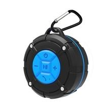 Waterproof IPX7 Bluetooth 4.2 Wireless Hand-free Portable Speaker Outdoor Loudspeaker with Suction Cup Speakerphone
