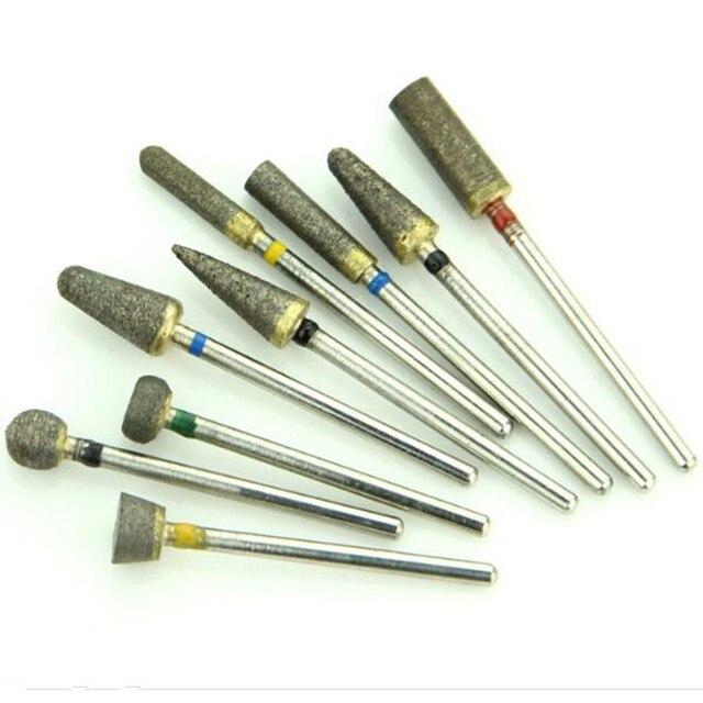 Dental Sintered Diamond Bur Polisher 2.35 mm 30 Pieces/Lot Dental Lab Tool Trimming Drill For Metal Ceramics Jewellery