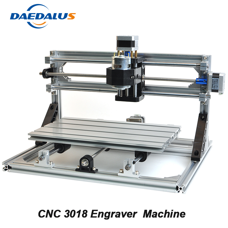 CNC Laser Engraving Machine 3018 DIY Milling Machine 3 Axis PCB Cutters Mini Engraver With ER11