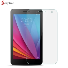 Tempered Glass For Huawei MediaPad T1 7.0 Plus T1-701U T1-701UA inch 9H Ultra Thin Tablet Protective Toughened Film