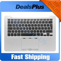 Brand New Replacement Top Case Topcase Palmrest UK Version with Keyboard with Backlight For Macbook Pro Retina 13 A1502