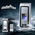 Controle de Acesso Biométrico de impressões digitais Com o Desempenho Rápido e Confiável Função RS485 saída WG IP68 À Prova D' Água de Metal Caso