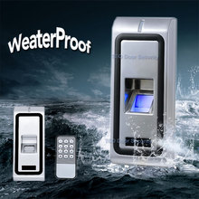 Fingerprint Biometric Access Control With Fast and Reliable Performance RS485 Function  Waterproof WG output Metal Case