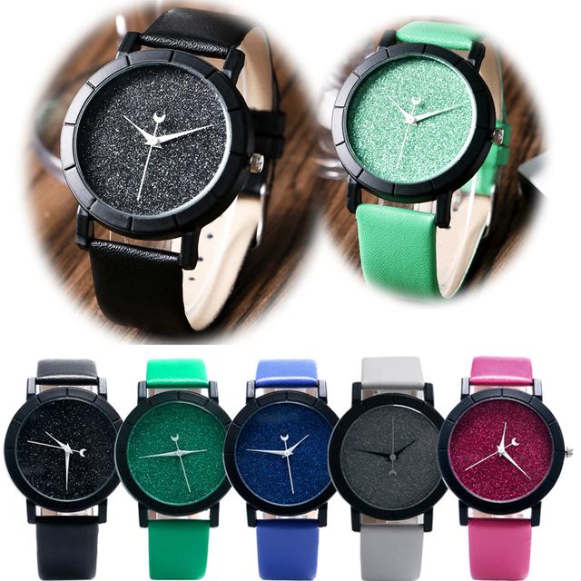 "Designer Glitter Women Wrist Watch ""Starry Night"""