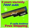 Jigu 9 células bateria do portátil para lenovo 3000 g430 g430a g450 g450a g530 b460 n500 g550 ideapad g430 v460 z360 Z360A