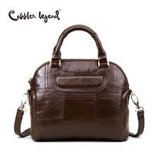 Cobbler Legend 2017 New Fashion Design Women's Totes Bag Genuine Leather Elegant Ladies Handbags For Female Crossbody Bags