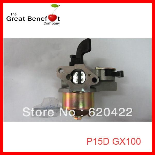 P15d GX100 peças de motor a gasolina acessórios carburador se encaixa para japão honda GX100 motor a gasolina substituição