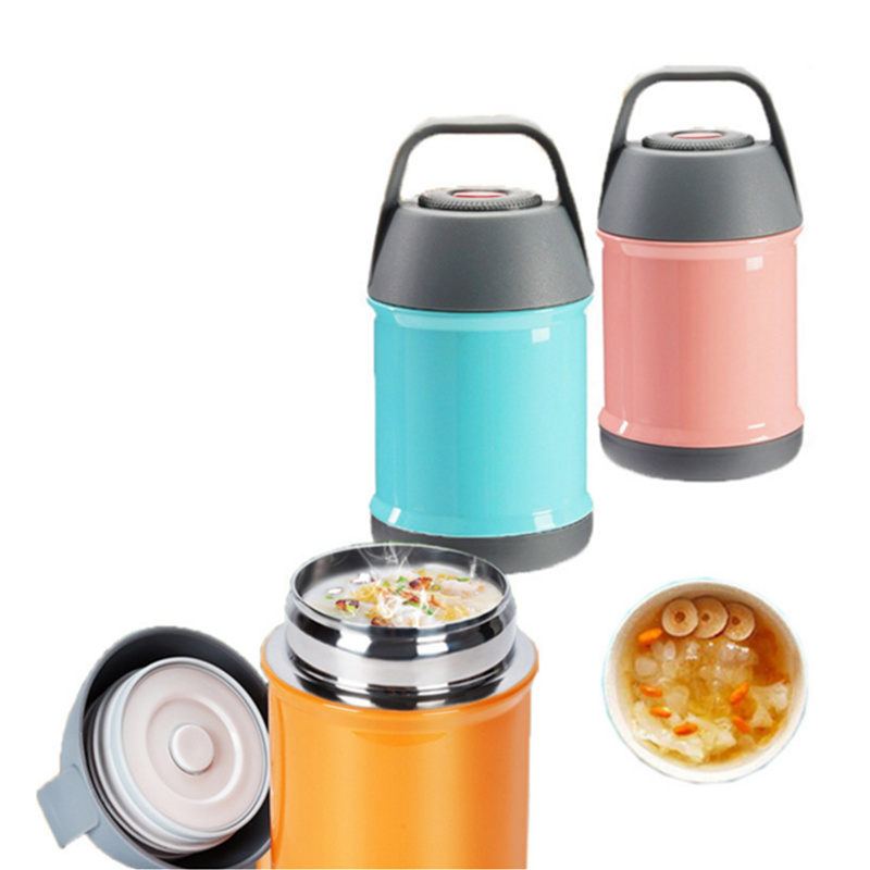 stainless steel food thermos mug braised beaker mini bucket vacuum insulated thermos pot soup. Black Bedroom Furniture Sets. Home Design Ideas