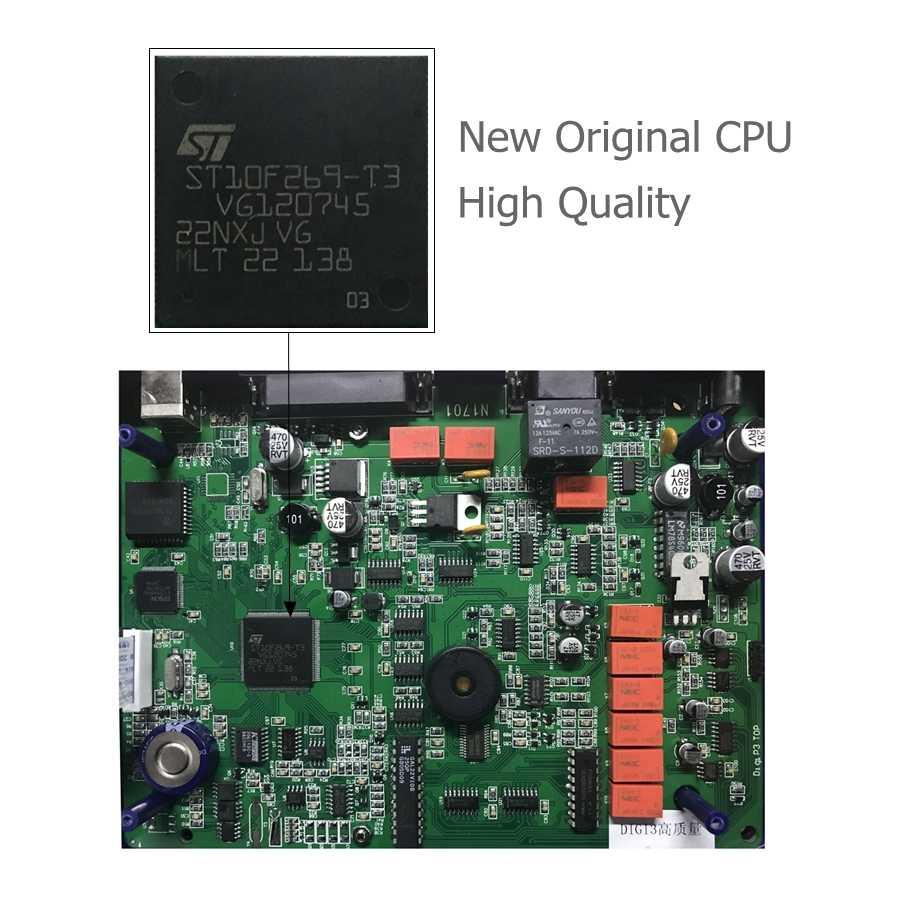 DIGIPROG 3 V4.94 OBD Versi Jarak Tempuh Programmer Digi Prog III OBD2 Odometer Alat Koreksi FTDI FT232BL & 93C46 Chip DigiProg III