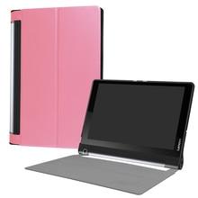 ocube DHL/EMS Free Ultra Slim Folio Stand PU Flip Leather Case Cover For Lenovo Yoga Tab 3 Plus Pro 10.1 inch Funda Tablet